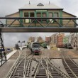 Driver's eye view of the station from Queenhithe Bridge ©Hornby Magazine
